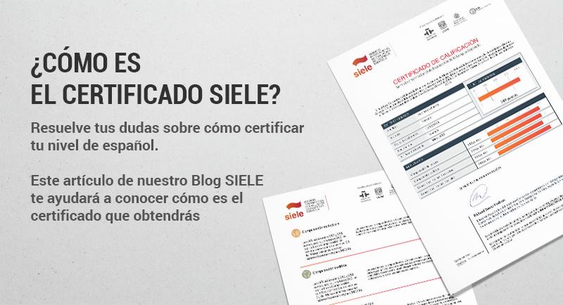 El Certificado SIELE