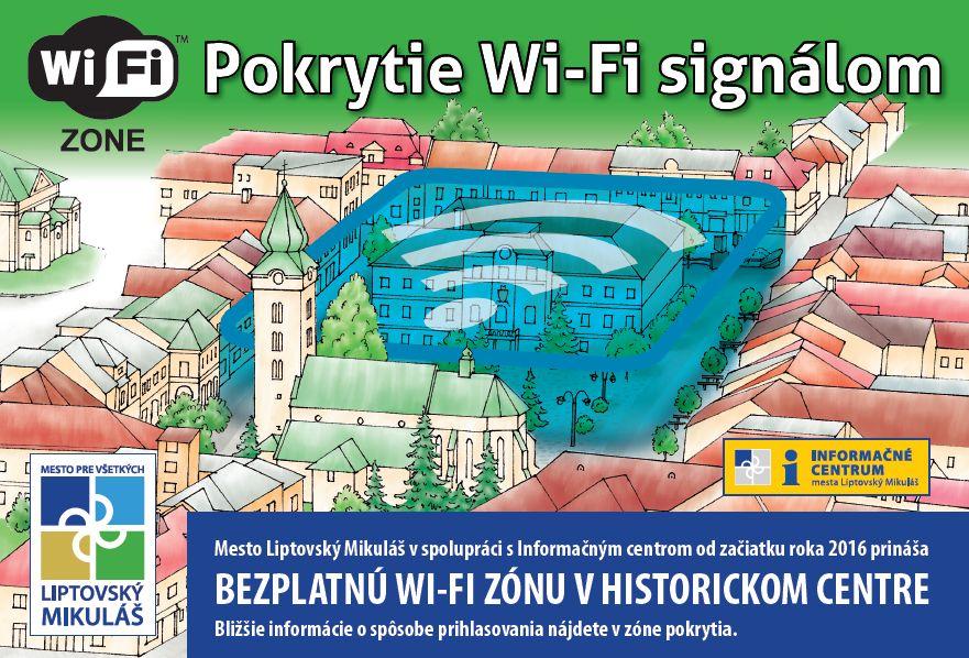 Wifi pokrytie
