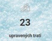 23 upravených tratí