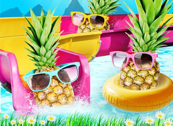 Veľkonočná oberačka ananásov