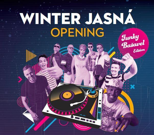 winter jasna opening