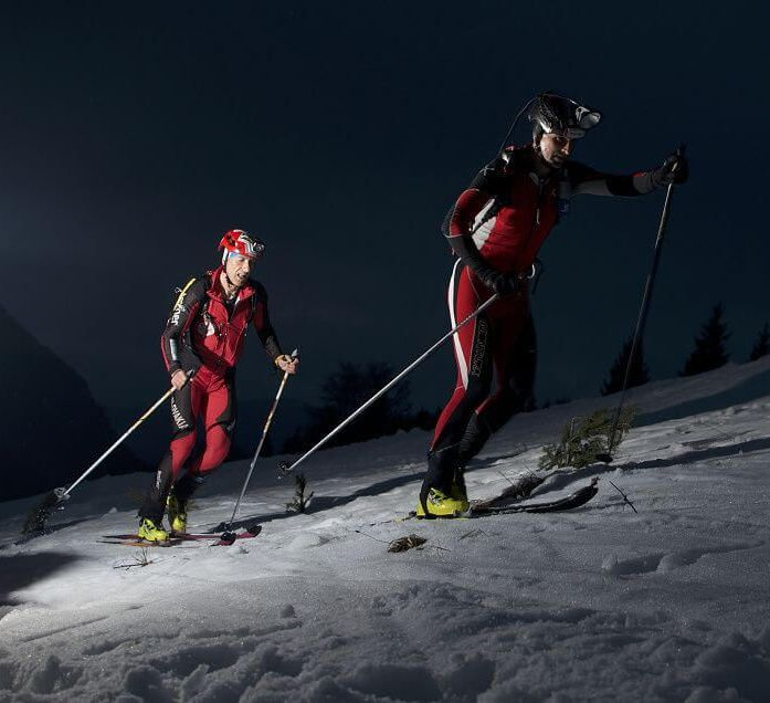 Night skialp challenge