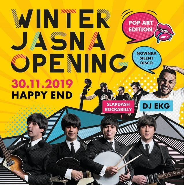 WINTER JASNÁ OPENING 2019