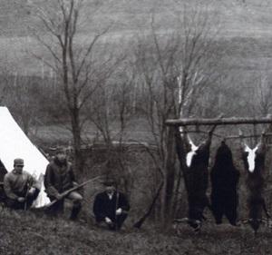 Jagt i gamle dage