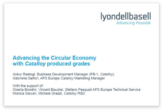 Advancing the Circular Economy