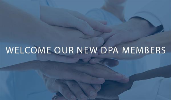 Welcome New DPA Members