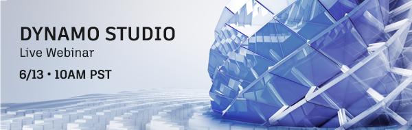 Dynamo Studio Webinar