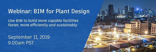BIM for Plant Design Webinar